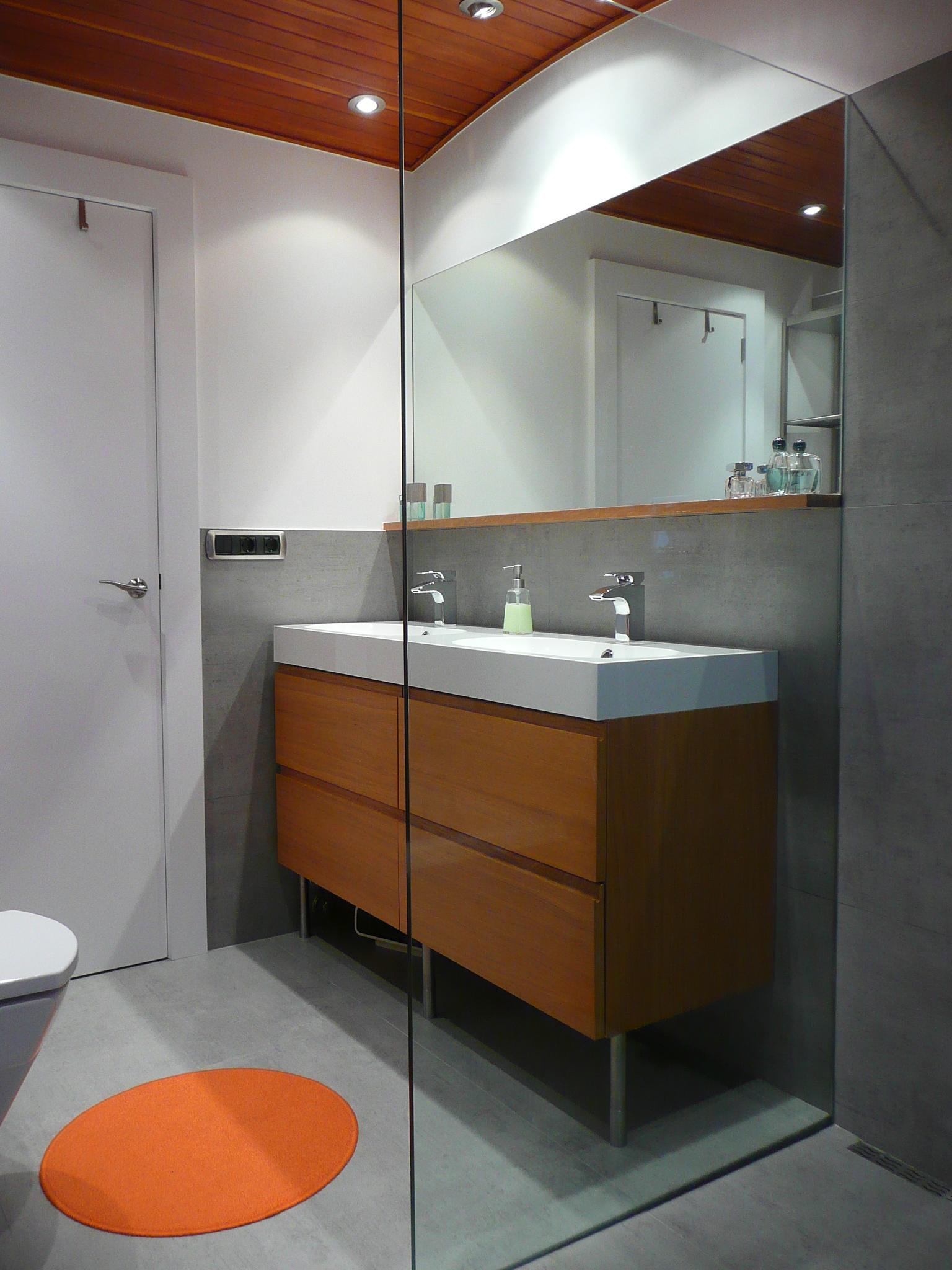 Reforma Baño Paso A Paso: el pasado verano Se trata de la reforma de un baño en un dúplex