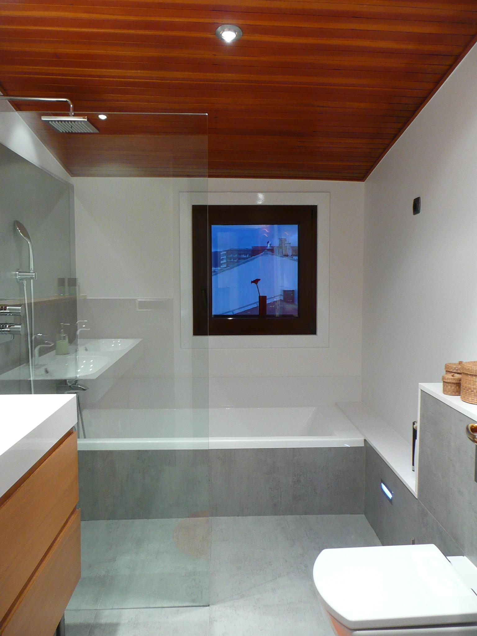 Imagenes Baños De Obra:Reforma de un baño, o cómo hacer una ducha de obra