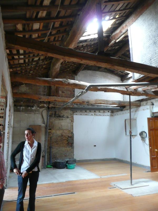 Viabilidad de la conservaci n de una estructura con vigas de madera el blog de la urbana - Restaurar vigas de madera ...