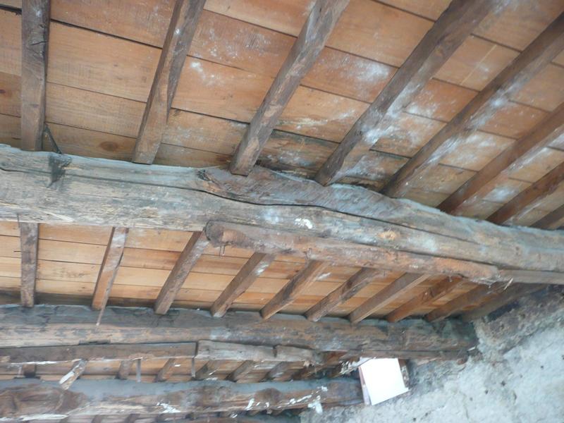 Viabilidad de la conservaci n de una estructura con vigas for Tejados de madera vista