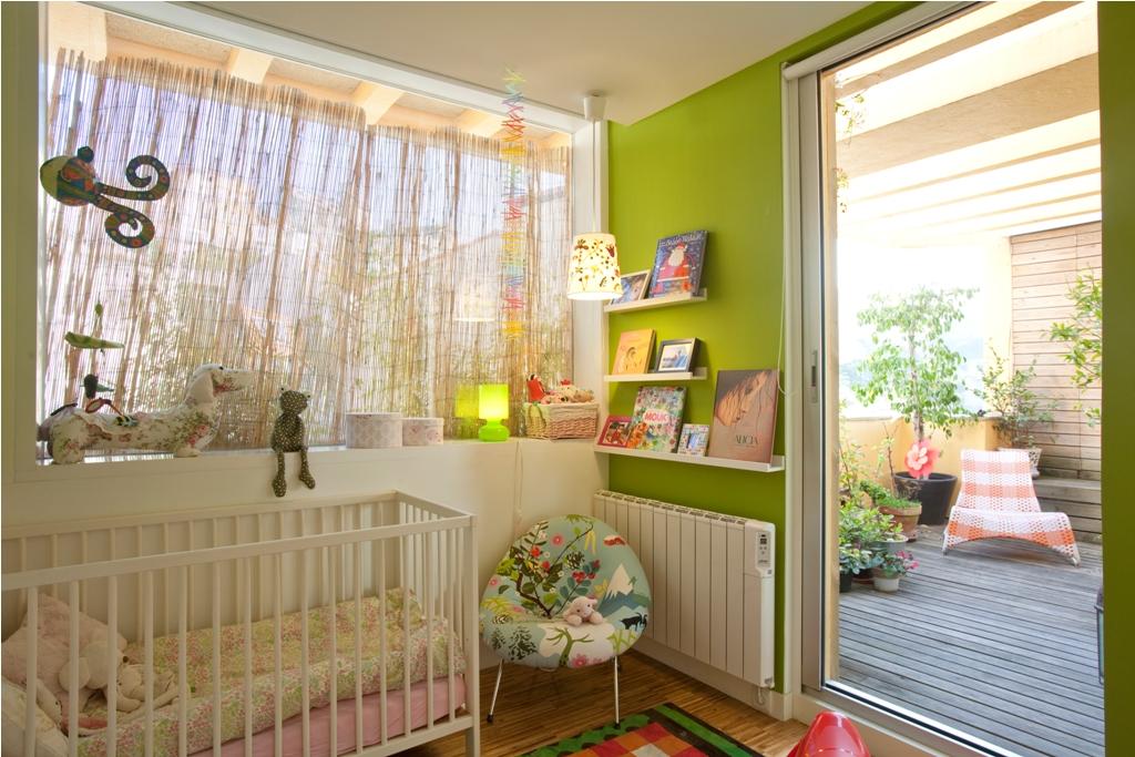 dormitorio niños ventanas