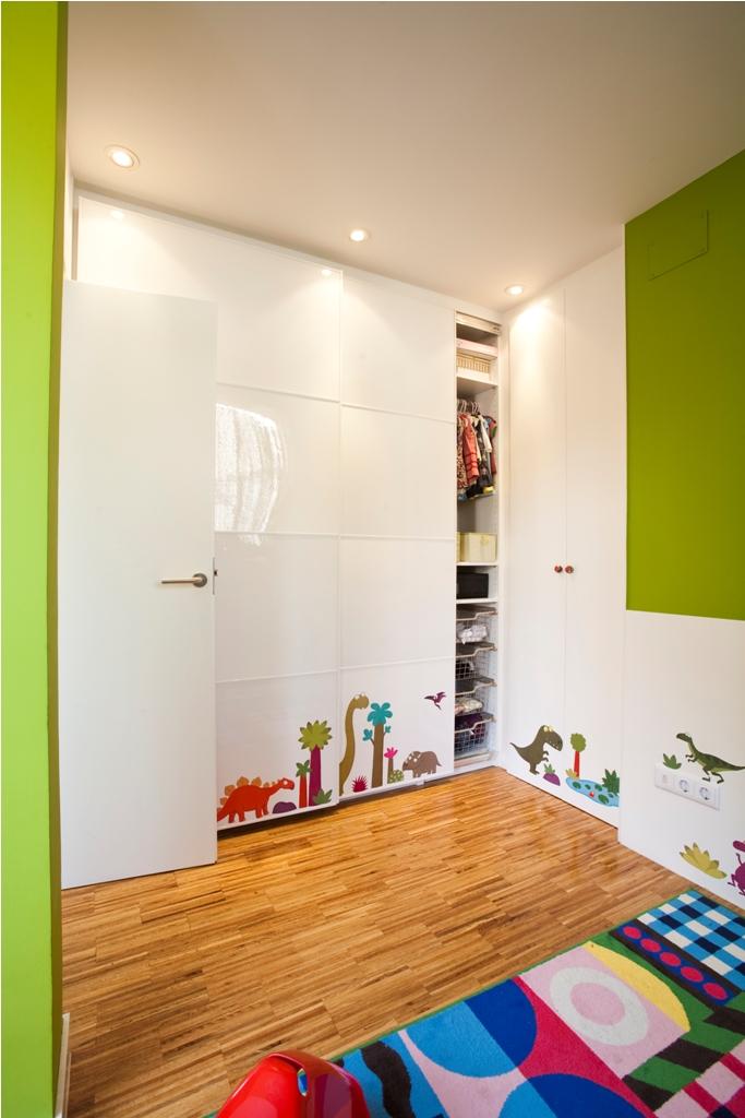 dormitorio niños armario