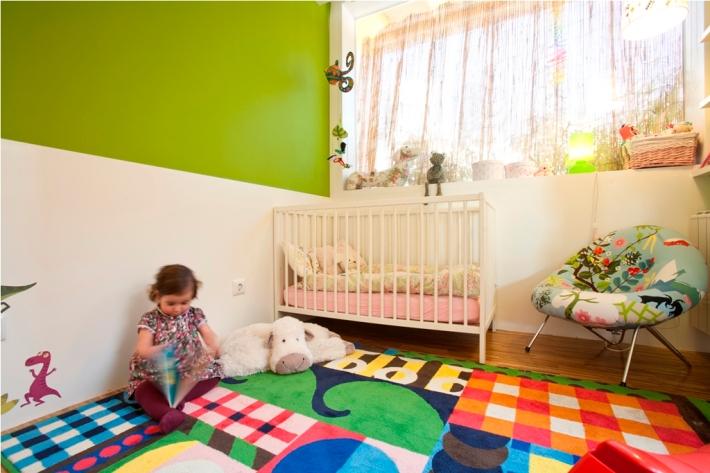dormitorio niños alfombra