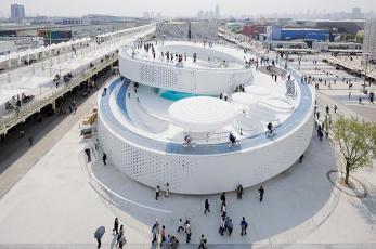 Pabellón de Dinamarca en la Expo de Shanghai BIG