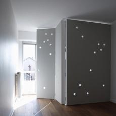 soluciones usos flexibles grandes puertas mamparas