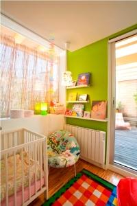 dormitorio niños obra ventana corredera se esconde en pared