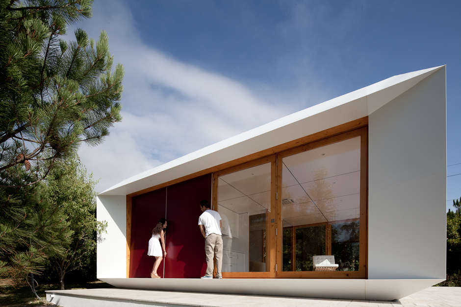Algunos ejemplos de casas modulares o prefabricadas el - Casas modulares portugal ...