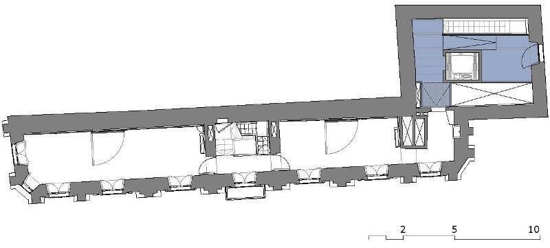 casa do cabildo santiago de compostela planta