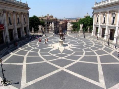 plaza del campidoglio roma miguel angel michel angelo
