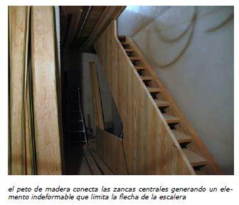 cuadernos tecnicos consorcio santiago cabildo detalle escalera madera