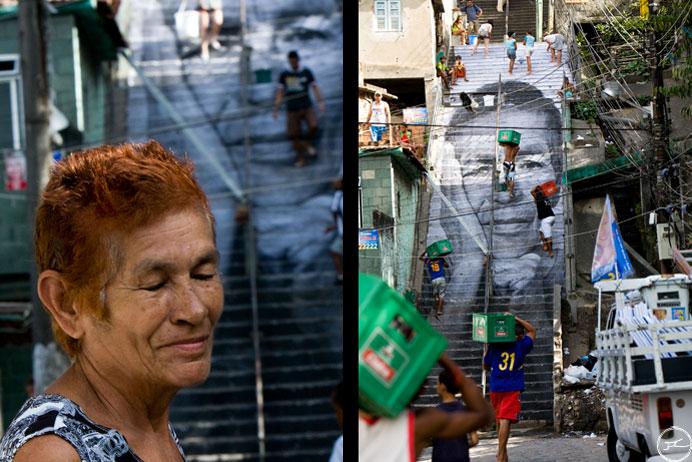 jr edificio fotografia gran formato favelas morro da Providencia rio de janeiro