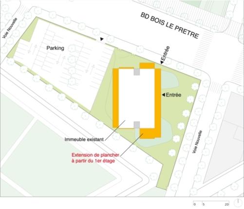 lacaton vassal renovación edificio en paris planta