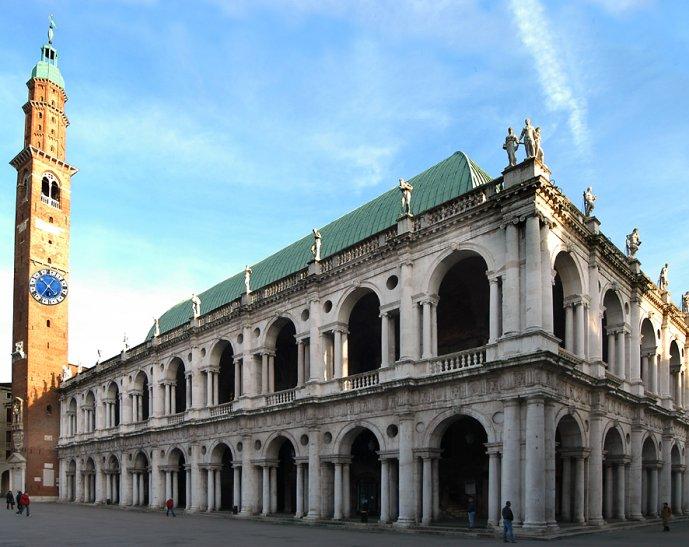 basilica de vicenza de palladio