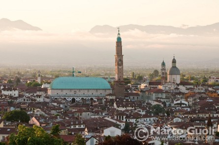 basilica de vicenza de palladio vista general