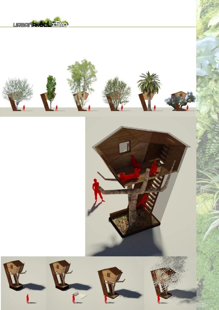 urbanarbolismo casa en el arbol esquema