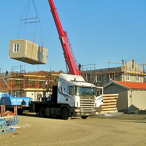 casas modulares prefabricadas ikea boklok apartamentos