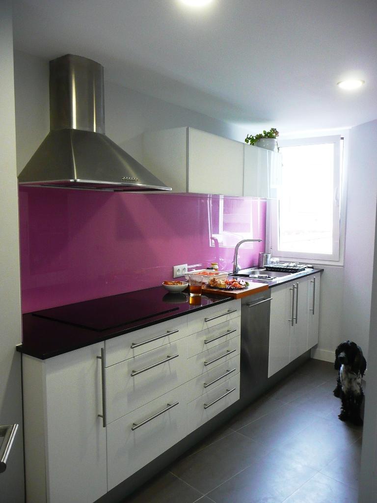 Opini n sobre las cocinas de ikea nuestra experiencia - Como forrar muebles de cocina ...
