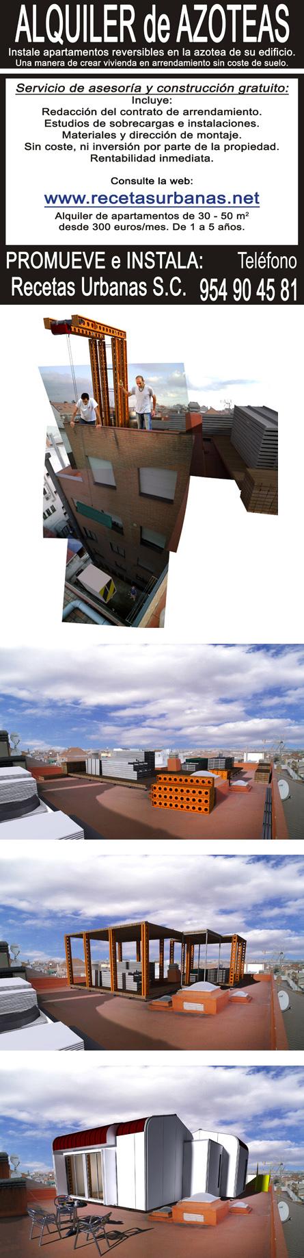 santiago cirgeda recetas urbanas modulo vivienda azotea