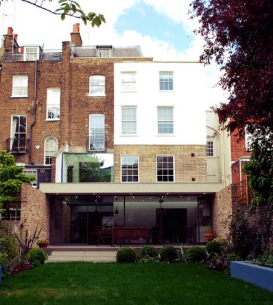 hamilton terrace Robert Dye rehabilitacion vivienda entre medianeras patio trasero jardín