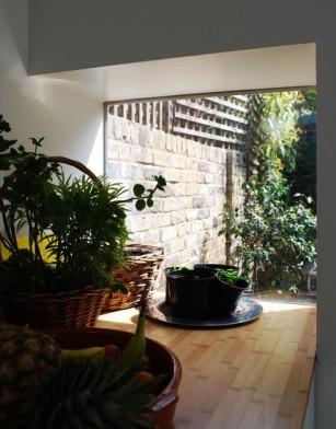 lupton st Robert Dye rehabilitacion vivienda entre medianeras patio trasero jardín