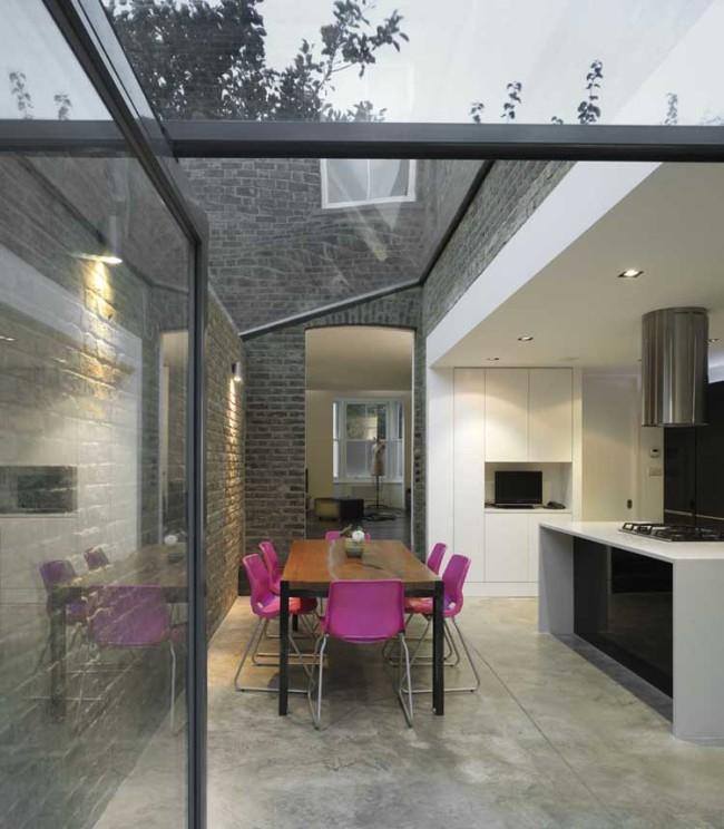 mapledene road platform 5 architects rehabilitacion vivienda entre medianeras patio trasero jardín