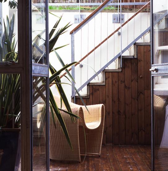 parliament hill Robert Dye rehabilitacion vivienda entre medianeras patio trasero jardín
