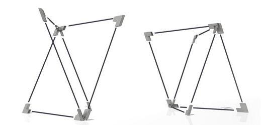 quadror sistema estructural tridimensional muros acústicos nudos